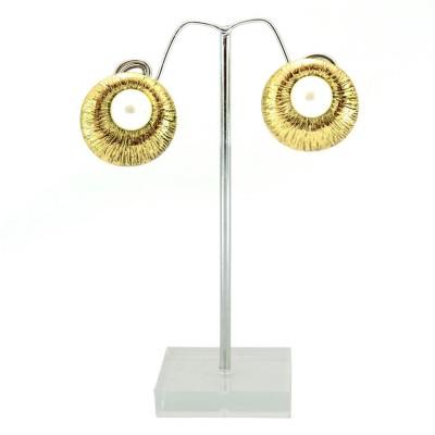 Shopaholic Fashion Shopa Crystal Alloy Stud Earring