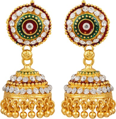 Bling N Beads Traditional Indian Alloy Jhumki Earring
