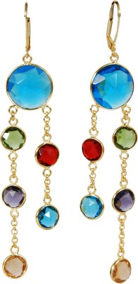 Studio B40 LOVE ME EARRINGS Brass Dangle Earring