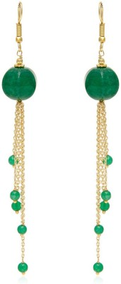Trend Arrest New Way Jade Alloy Dangle Earring