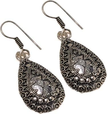 Sanaa Creations Black Oxcide Handcrafted Fancy Earring Alloy Dangle Earring
