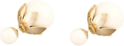 FashBlush Shining Jewel Double Sided Alloy Stud Earring