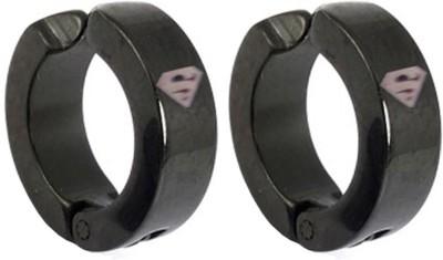 Men Style Superman inspired Stainless Steel Clip-on Earring
