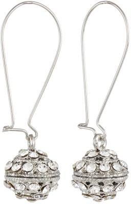 CTW Elegant Shining Ball Hanging Alloy Clip-on Earring