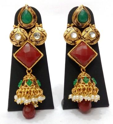 Womaniya Jhumki Jazz Alloy Jhumki Earring