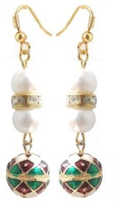 Kalaplanet Thewa Ball Design Alloy Dangle Earring