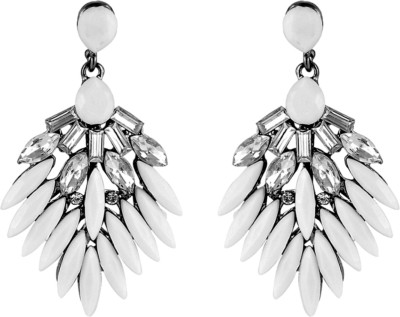 Amroha Crafts Ashended Alloy Chandelier Earring