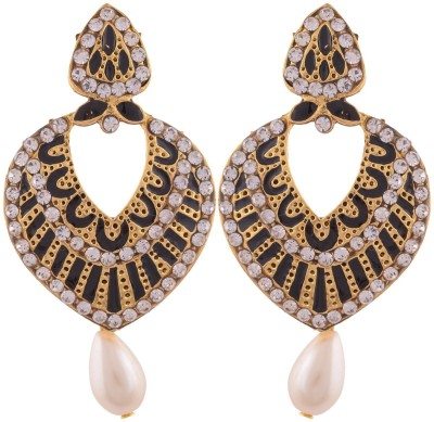 Grandiose Plated Dangle & Drop Copper Drop Earring