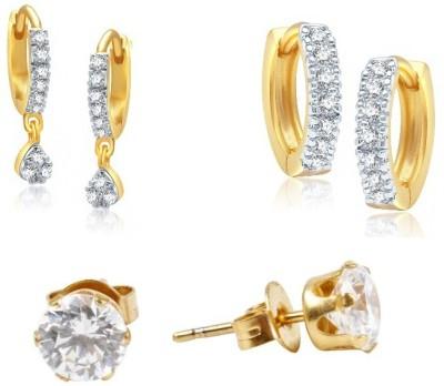 YouBella Gorgeous Diva Cubic Zirconia Alloy Earring Set