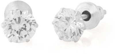 Gemshop GLITZY PAIR OF ENCRUSTED WITH STONES Alloy Stud Earring