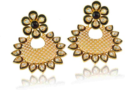 Vastradi Jewels Brass, Alloy, Metal Dangle Earring