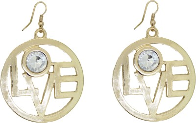 Circuzz Staylo with american stone Brass Dangle Earring