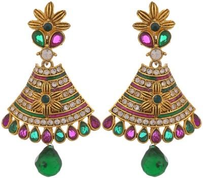 GlamMore09 Dangle Design Copper Drop Earring