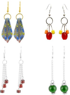 Beadworks Fusion Glass Glass Earring Set