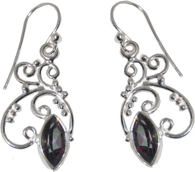 Arvino Lake Of Love Quartz Sterling Silver Dangle Earring