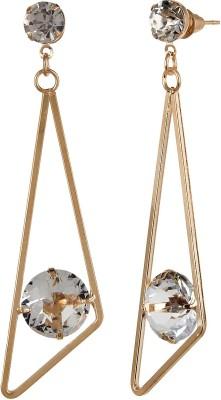 Navya Collections Studded Stone Alloy Dangle Earring