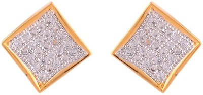 Affinity Jewellers Just like diamonds Cubic Zirconia Alloy Stud Earring