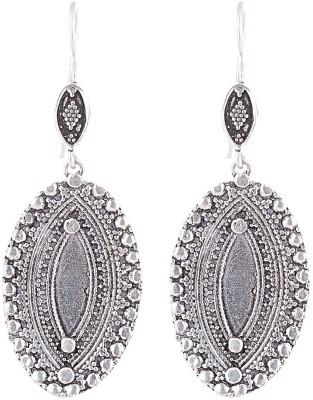 Ganapathy Gems Spring sparkle Metal Dangle Earring