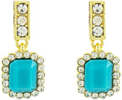 Savvy Designer Brass Drop Earring