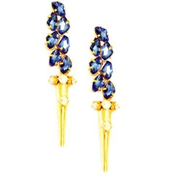 Ornamas Stone, Copper, Alloy Drop Earring