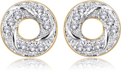 Alamod ALER 5087 Cubic Zirconia Brass Stud Earring