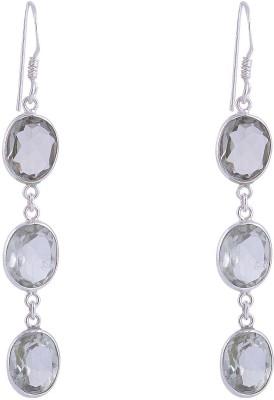 Jewel Paradise Sterling Silver Dangle Earring