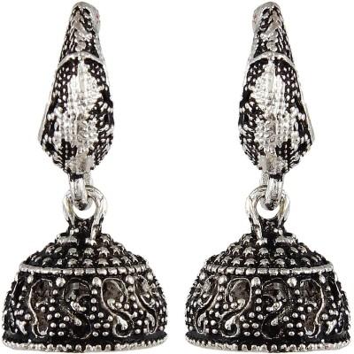 CTW Oxidised Bali Alloy Jhumki Earring