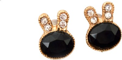 Ak Zopping Collection Alloy Crystal Stud Earring Metal Stud Earring