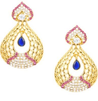 SIDDH Royal Rajasthani Alloy Jhumki Earring