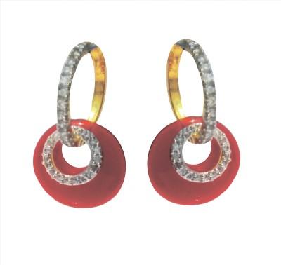 The Hub Designer Fusion Work Copper Hoop Earring