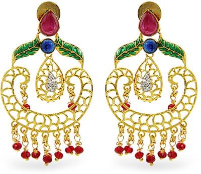 Aamoye Alloy Chandbali Earring