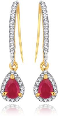 Alamod ALER 5066 Cubic Zirconia Brass Dangle Earring