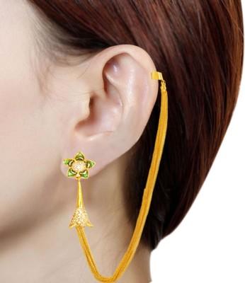 Prisha PPIPLCZER18 Zircon Copper Jhumki Earring