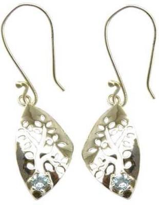 Miska Silver Beautiful Topaz Silver Dangle Earring