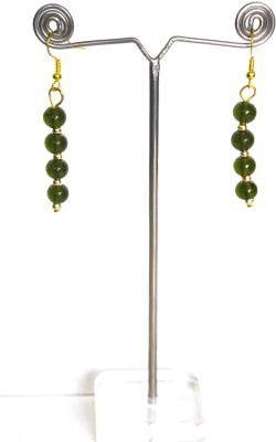 Deal And Gift 4 Bead Resin Drop Earring