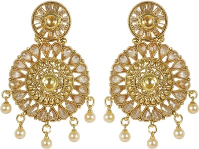 Muchmore Gorgeous Beautiful Style Fashion Earring For Women Gift Jewelry Crystal, Pearl Alloy Earring Set