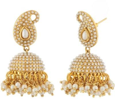Satyam Jewellery Nx Jhumka Earring Copper Jhumki Earring