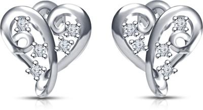 Kirati Cubic Zirconia Silver Stud Earring