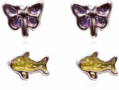 Trendy Baubles Metal Earring Set