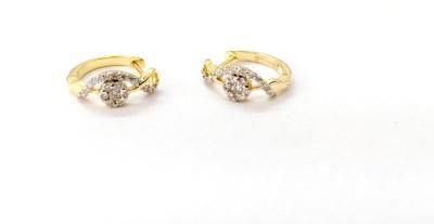 Arkina Diamonds Blue sapphire awesomeness Silver Stud Earring