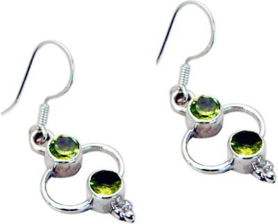 Riyo Admirablestar Peridot Peridot Sterling Silver Dangle Earring
