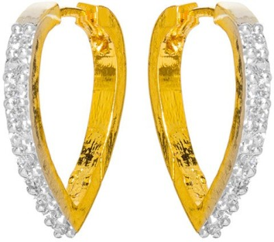 Subh Princees Delight Brass Hoop Earring