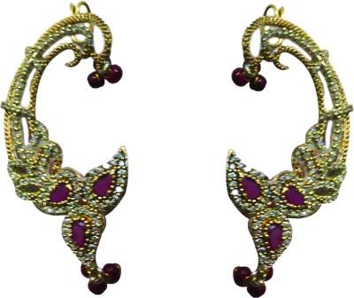 zenith jewels princess12 Brass Chandelier Earring