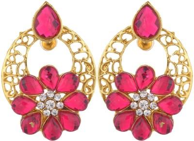 Shourya Flower Earrings Alloy Stud Earring