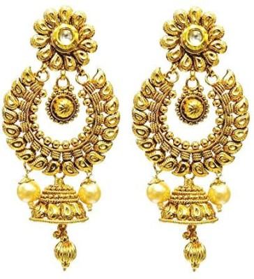 Satyam Jewellery NX Artificial Jewellery Copper Hoop Earring