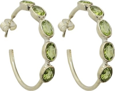 Imli Street Fashion Jewellery Silver Hoop Earring