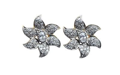 Waama Jewels Amazing Cubic Zirconia Alloy Stud Earring