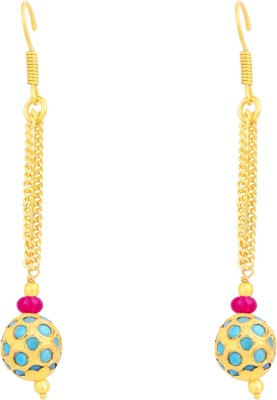 Ijuels Princess Golden Charm Classic Treasures Cubic Zirconia, Crystal Alloy, Brass, Crystal, Glass Dangle Earring