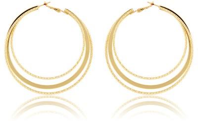 Trendy Baubles Metal Hoop Earring