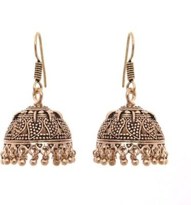 Kaizer Jewelry Princess Nickel Jhumki Earring